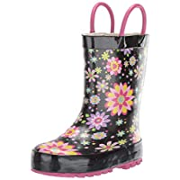 Western Chief Boys' Waterproof Printed Rain Boot