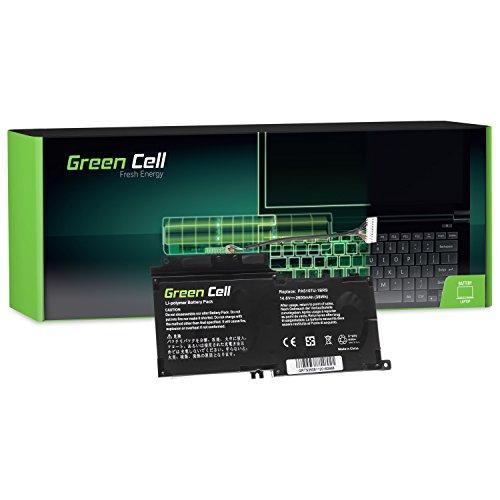 Green Cell® PA5107U-1BRS Batería para Toshiba Satellite L50-A L50D-A L50t-A P50-A P50t-A P50-B S50-A S50D-A S50t-A Ordenador (2600mAh 14.4V Negro)