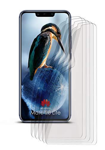 5X Huawei Mate 20 Lite | Schutzfolie Matt Bildschirm Schutz [Anti-Reflex] Screen Protector Fingerprint Handy-Folie Matte Bildschirmschutz-Folie für Huawei Mate 20 Lite Bildschirmfolie