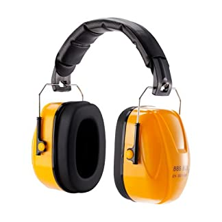 Kormax B026 Protector para oídos, Naranja y Negro
