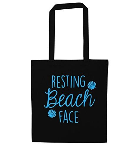 Flox Creative , Borsa da spiaggia  Donna Black