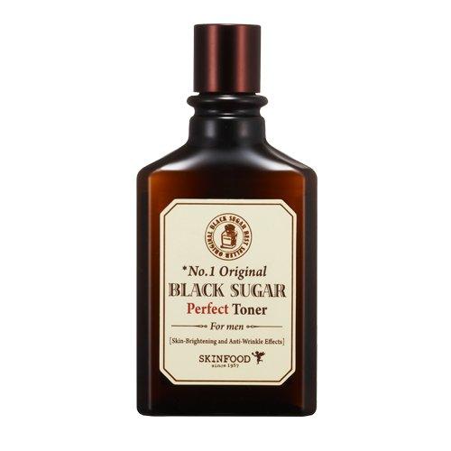 Skin Food - Black Sugar Perfect Toner für Männer - Anti Falten Gesichtspflege für die Männerhaut