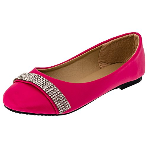 infiniti-shoes-ballerines-pour-fille-rose-93rs-rosa-taille-33