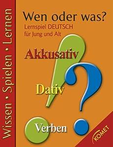 KOMET A chi o a che cosa? : gioco educativo tedesco per ragazzi e anziani.