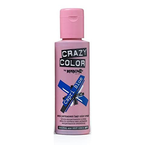 Renbow Crazy Color Capri Blue and Pink Crème Semi-Permanent 100 ml