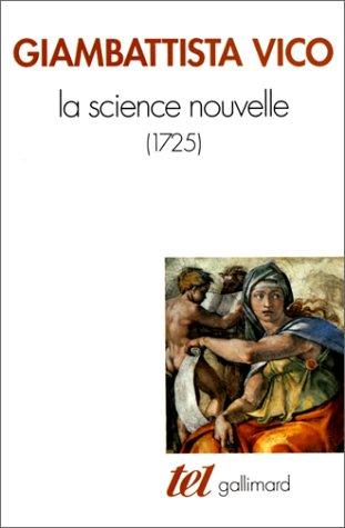 Epistemologie Des Sciences Sociales - La Science nouvelle: