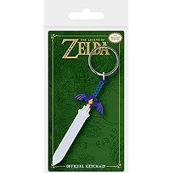 Pyramid International la Leyenda de Zelda Master Espada de Goma Llavero, 4,5x 6cm