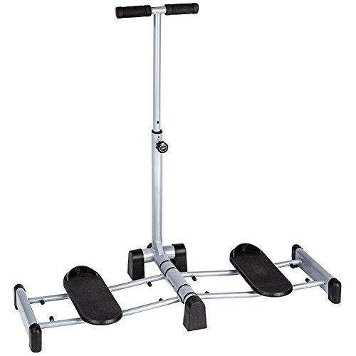 Fitness House Leg Magic - Aparato para piernas y glúteos, Color Gris, Talla única