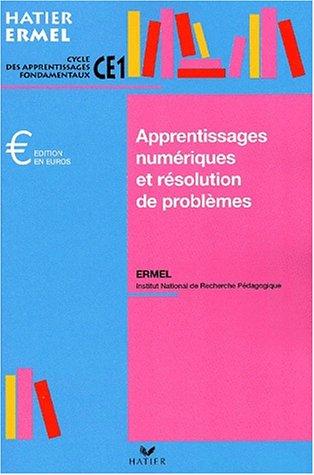 Apprentissages numériques au CE1, édition 2001