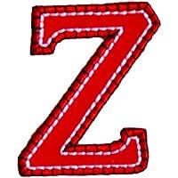 Z 5cm rosso blu Decorazione Personalizzato Colorato Ragazzo Termoadesive per