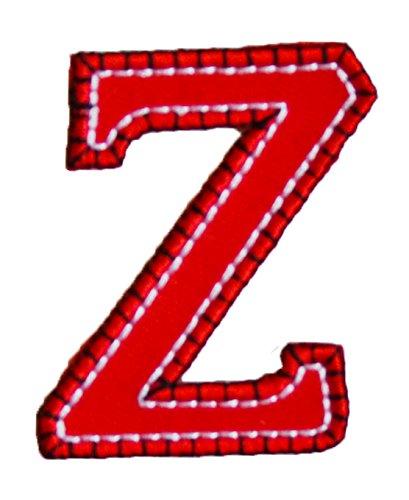 z-maiuscolo-5cm-rojo-azul-personalizar-personalizado-pastas-cortas-parche-para-el-bautismo-para-repa