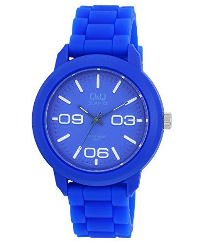 Q&Q Analog Blue Dial Men's Watch - VR08J014Y image