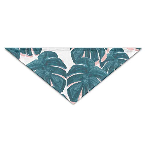 JMAKI Hundehalsbänder Hunde Halstuch,Cheese Leaf Pattern Triangle Pet Scarf Dog Bandana Pet Collars,Soft Head Scarfs Accessories Pet bib Pet Supplies -