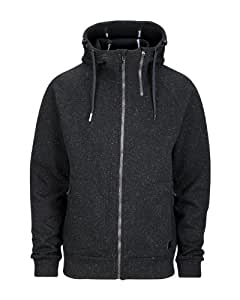 Bench Herren Strickjacke Gebondet Waters, jet black, L, BMEF0041