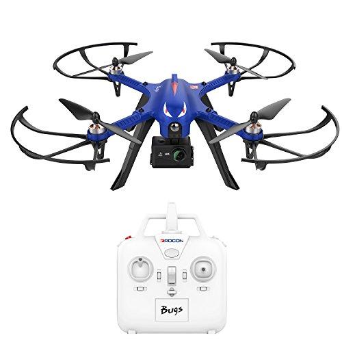 DROCON Brushless Expend Speed MJX Quadcopter Drohne starker bürstenloser Motors, 15 Minuten Flugzeit für GoPro HD Kamera, 300m Reichweite der Fernbedienung