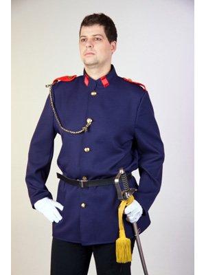 Uniformjacke, blau Größe 50/52