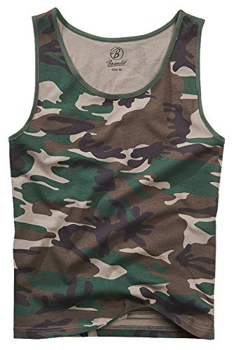 Brandit Tank-Top, Woodland 3XL (3xl Herren-tank Top)