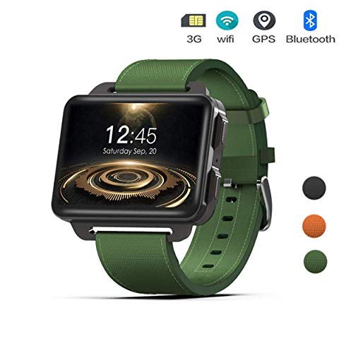 HYLH HYLH 3G Großbild Smart Watch, Android5.1, 1.3MP Kamera, 1GB RAM 16GB ROM MT6580 Quad Core 1.3Ghz, GPS Pedometer für Android iOS