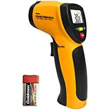 Termómetro Infrarrojo, Helect Digital Láser Termómetro Infrarrojo IR Sin Contacto, Pistola de Temperatura -50°C a 550°C
