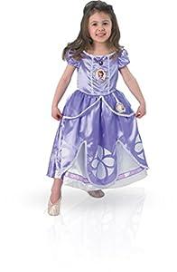 Princesas Disney - Disfraz de Princesa Sofía para niña, infantil 3-4 años (Rubie