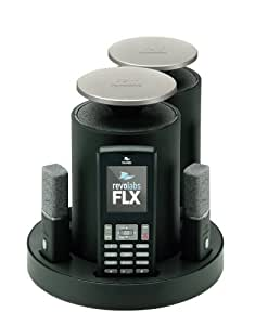 Revolabs FLX2 VOIP Wireless Conference SIP System with 2 Omni-Directional Microphones and 2 Speakers