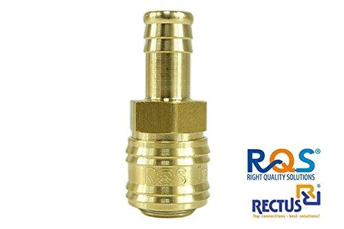 1 stück Druckluft Schnellkupplung Rectus RQS (TYP26) mit Schlauchanschluss 6mm , 8mm , 9mm , 10mm ,...