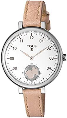 TOUS Reloj de mujer Tous Spin de piel