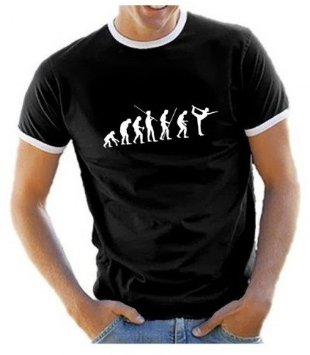 11a8f82a98615 Coole-Fun-T-Shirts Yoga Evolution - T-shirt - Homme