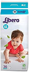 Libero Extra Large (XL) Size Open Diapers(36 Counts per Pack)