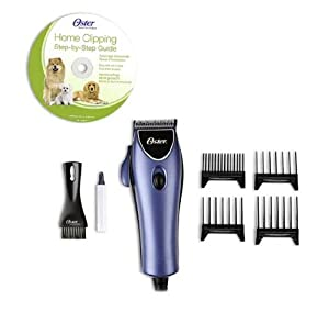 Oster Pet Grooming Clipper Kit with DVD, 220V/ 12 W