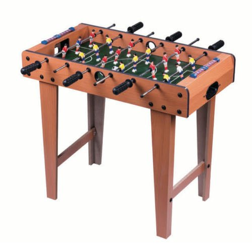 FiNeWaY@ LIVIVO Large Deluxe Free Standing Soccer Football Table Game With Legs - Family Game Size 69 X 62 X 37cm