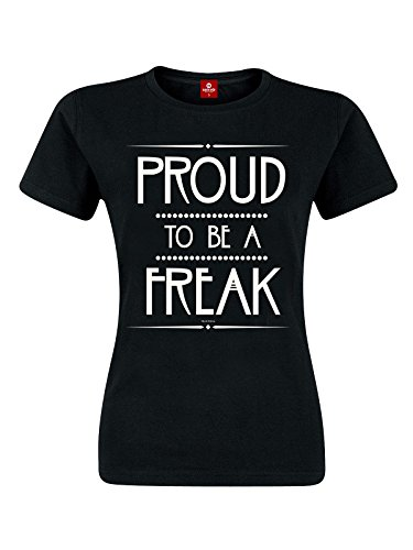 American Horror Story Proud To Be A Freak Maglia donna nero L