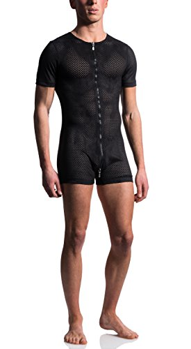 MANStore M603 Zipped Body - Wildleder-Look - schwarz - limitierte Kollektion