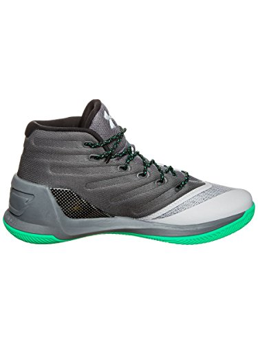 UNDER ARMOUR ua curry 3 UOMO SCARPE BASKET Grey