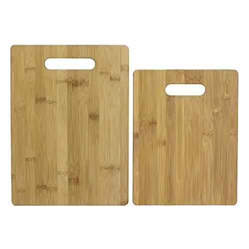 Unbekannt Totally Bamboo BA202038 2er-Set Schneidbretter (28 und 33 cm), Sets (Schneidebrett Bamboo Totally)