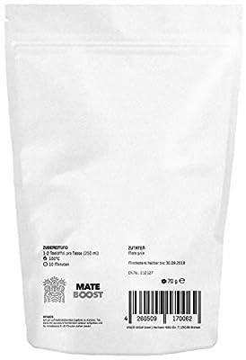MATE BOOST - 100 % Purer Premium Mate Tee - DAS ORIGINAL für Mate Fans - Nur die erlesenste Mischung aus Südamerika. von ERDEM GROUP GmbH - Gewürze Shop