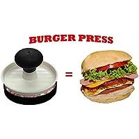 Prensa antiadherente para hamburguesas, fácil de usar, apta para lavavajillas, mejor para carne