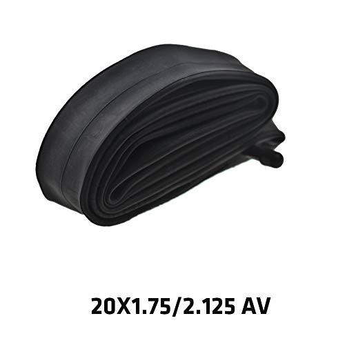 Sen-Sen Mountainbike Explosionsgeschützter Innenschlauch Selbstreparierender Flüssigkeits-Innenschlauch - schwarz (20X1.75/2.125 AV)