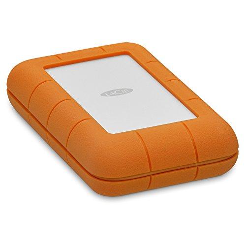 LaCie Rugged Mini-Festplatte, tragbar, inkl. 1mo (alle Apps) 4TB - Thunderbolt Lacie Rugged