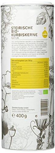 Fandler Steirische Bio-Kürbiskerne natur, 1er Pack (1 x 400 g) - 3