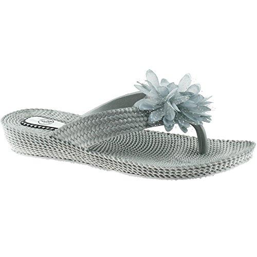 Generic, Infradito donna 36-41 EU Silver