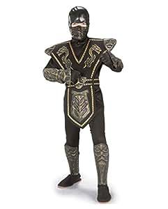 costume d'or Dragon Warrior Ninja S