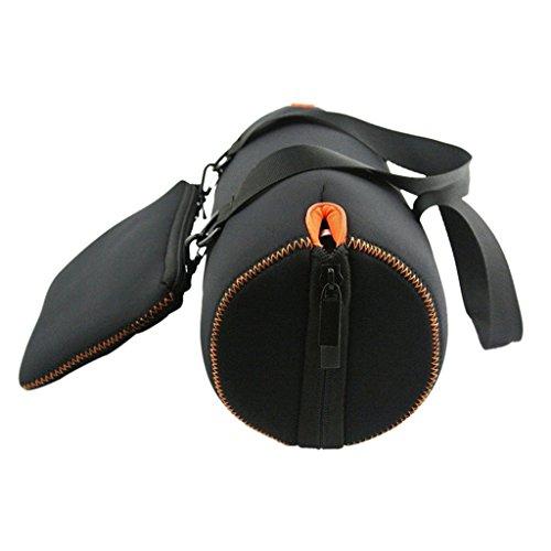 Sharplace Sac Housse de Transport avec Pochette de Chargeur et Câbles Cas Stockage Robuste pour JBL Xtreme Enceinte Portable Bluetooth Portable Noir