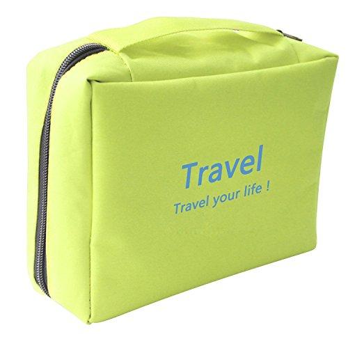 NOVAGO Kulturtasche Toiletbag Traveling Toiletbag - Grün Grün