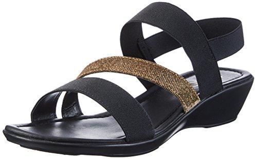 ChriGì Sandal (BLACK_GOLD)