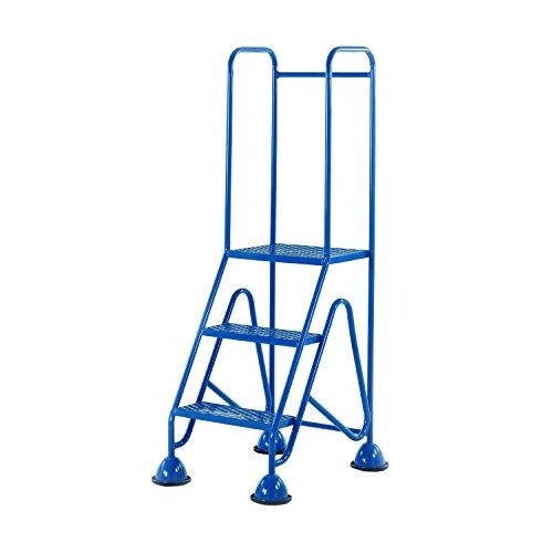 Praktische Panda wm513_ blau Fort Kuppel Füße 3Schritt mit Full Handlauf in Mesh reifenprofile, blau