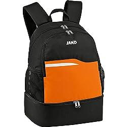 Jako Competition 2.0Mochila, Todo el año, Unisex, Color Negro/Naranja, tamaño 34x24x48 cm