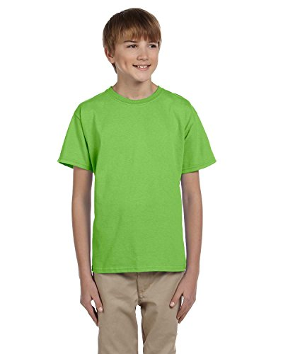 Big In Japan auf American Apparel Fine Jersey Shirt Lime