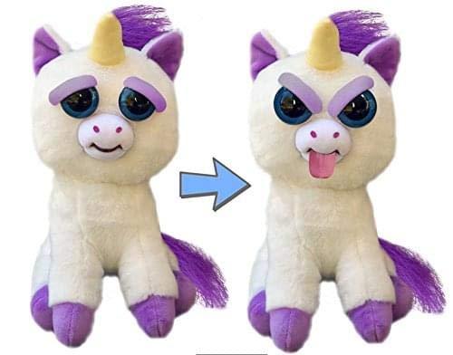 feisty pets einhorn Feisty Pets Ausdrücke Silly Glenda Glitterpoop das Unicorn Sticks ihre Zunge heraus