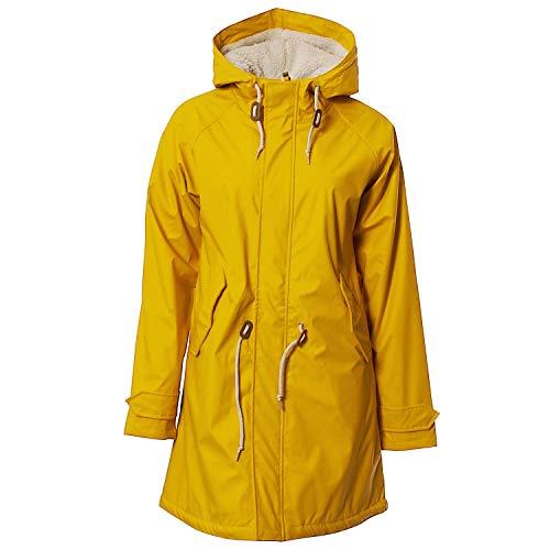 Derbe Damen Regenjacke TRAVEL COZY FRIESE yellow gelb